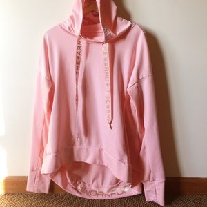 Jessica Simpson pink work for it hoodie size XL